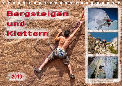 Bergsteigen und Klettern (Tischkalender 2019 DIN A5 quer), Peter Roder