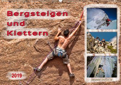 Bergsteigen und Klettern (Wandkalender 2019 DIN A2 quer), Peter Roder