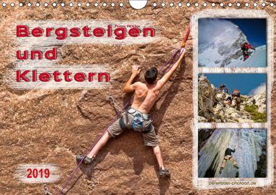 Bergsteigen und Klettern (Wandkalender 2019 DIN A4 quer), Peter Roder