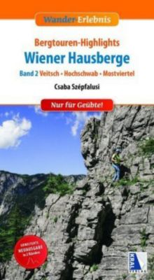 Bergtouren-Highlights Wiener Hausberge (Band 2) -  pdf epub