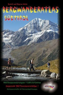 Bergwanderatlas Südtirol, Rudolf Weiss, Siegrun Weiss