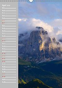 Bergwelt im Licht (Wandkalender 2019 DIN A3 hoch) - Produktdetailbild 4