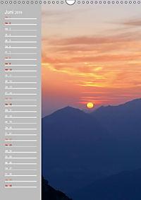 Bergwelt im Licht (Wandkalender 2019 DIN A3 hoch) - Produktdetailbild 6