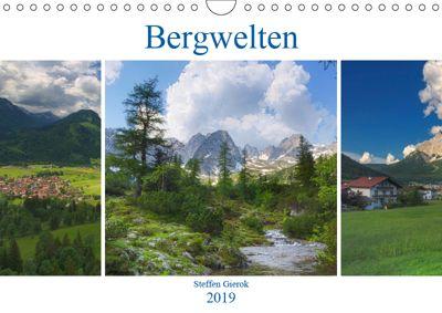 Bergwelten (Wandkalender 2019 DIN A4 quer), Steffen Gierok