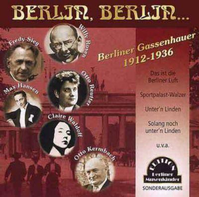 Berlin, Berlin, CD, Diverse Interpreten