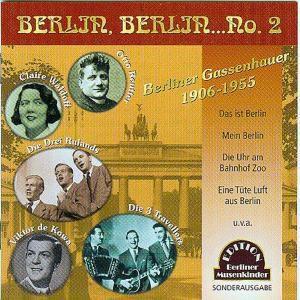 Berlin, Berlin...No.2, CD, Diverse Interpreten