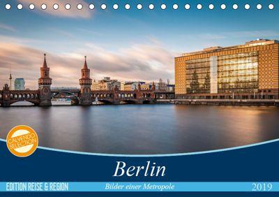 Berlin - Bilder einer Metropole (Tischkalender 2019 DIN A5 quer), Vladan Radivojac