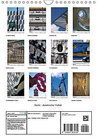 Berlin - detailreiche Vielfalt (Wandkalender 2019 DIN A4 hoch) - Produktdetailbild 13