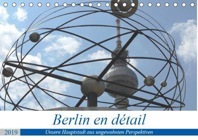 Berlin en détail (Tischkalender 2019 DIN A5 quer), Klaus Gosda