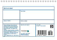 Berlin en détail (Tischkalender 2019 DIN A5 quer) - Produktdetailbild 13