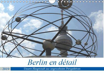 Berlin en détail (Wandkalender 2019 DIN A4 quer), Klaus Gosda