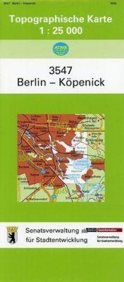Berlin Köpenick 1 : 25 000