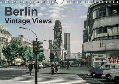 Berlin - Vintage Views (Wall Calendar 2019 DIN A4 Landscape), Michael Schulz-Dostal