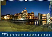Berlin zur Blauen Stunde - 12 Berliner Sehenswürdigkeiten (Wandkalender 2019 DIN A3 quer) - Produktdetailbild 1