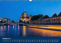 Berlin zur Blauen Stunde - 12 Berliner Sehenswürdigkeiten (Wandkalender 2019 DIN A3 quer) - Produktdetailbild 10