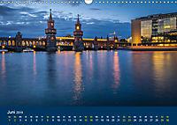 Berlin zur Blauen Stunde - 12 Berliner Sehenswürdigkeiten (Wandkalender 2019 DIN A3 quer) - Produktdetailbild 6