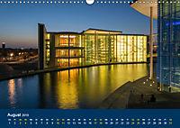 Berlin zur Blauen Stunde - 12 Berliner Sehenswürdigkeiten (Wandkalender 2019 DIN A3 quer) - Produktdetailbild 8