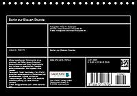 Berlin zur Blauen Stunde - 12 Berliner Sehenswürdigkeiten (Tischkalender 2019 DIN A5 quer) - Produktdetailbild 13