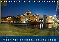 Berlin zur Blauen Stunde - 12 Berliner Sehenswürdigkeiten (Tischkalender 2019 DIN A5 quer) - Produktdetailbild 1