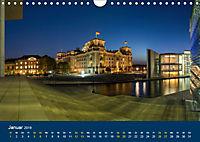Berlin zur Blauen Stunde - 12 Berliner Sehenswürdigkeiten (Wandkalender 2019 DIN A4 quer) - Produktdetailbild 1