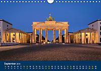 Berlin zur Blauen Stunde - 12 Berliner Sehenswürdigkeiten (Wandkalender 2019 DIN A4 quer) - Produktdetailbild 9