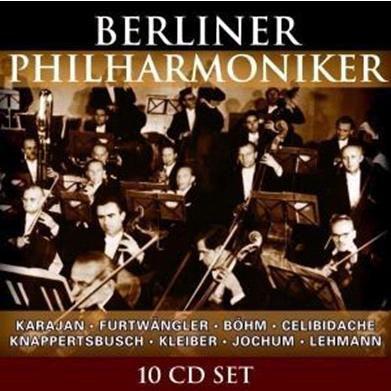 Berliner Philharmoniker, 10 CDs, Berliner Philharmoniker