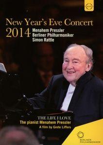 Berliner Philharmoniker-Silvesterkonzert 2014, Bp, Menahem Pressler, Simon Rattle