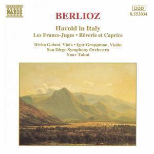 BERLIOZ: Harold in Italien / Les Francs-Juges, Golani, Gruppman, Talmi