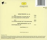 Berman Spiel Prokofjew Und Schostakowitsch - Produktdetailbild 1
