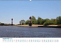 Berne 2019. Impressionen zwischen Weser und Hunte (Wandkalender 2019 DIN A2 quer) - Produktdetailbild 9