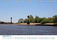 Berne 2019. Impressionen zwischen Weser und Hunte (Tischkalender 2019 DIN A5 quer) - Produktdetailbild 9