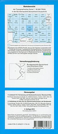 Bernkastel-Kues 1 : 50 000 - Produktdetailbild 1
