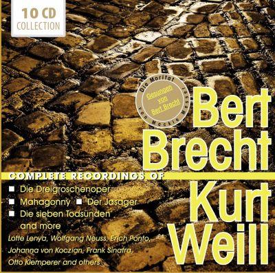 Bert Brecht/Kurt Weill - Complete Recordings, 10 CDs, Kurt Weill, Bertolt Brecht