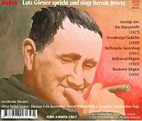 Bertolt Brecht, Ein Leben in Gedichten, 2 Audio-CDs - Produktdetailbild 1