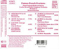 Berühmte Französische Ouvertüren - Produktdetailbild 1