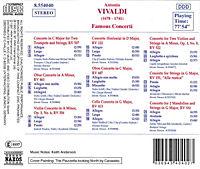 Berühmte Konzerte für 2 Trompeten, Oboe, Violinen, Cello und Mandolinen - Produktdetailbild 1