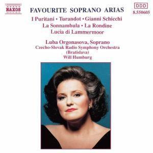 Berühmte Sopran-Arien, Orgonasova, Humburg