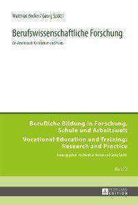Berufswissenschaftliche Forschung, Matthias Becker, Georg Spottl