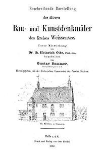 Beschreibende Darstellung der älteren Bau- und Kunstdenkmäler des Kreises Weissensee 1882 - Produktdetailbild 2