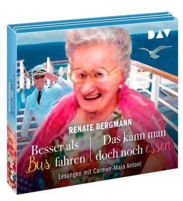 Besser als Bus fahren / Das kann man doch noch essen, 5 Audio-CDs - Renate Bergmann pdf epub