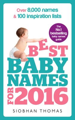 Best Baby Names for 2016, Siobhan Thomas