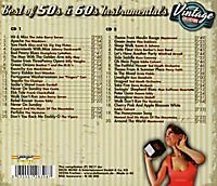 Best Of 50'S & 60'S Instrumental-Vintage Collecti - Produktdetailbild 1