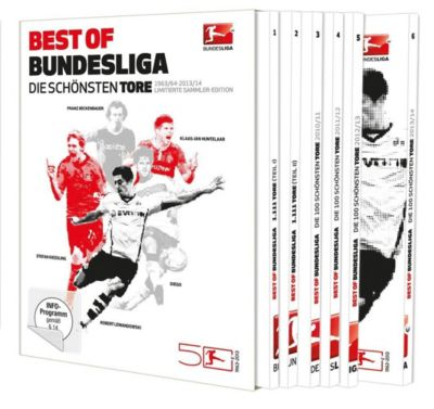 Best of Bundesliga - Die schönsten Tore, Diverse Interpreten