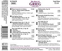 Best Of Grieg - Produktdetailbild 1
