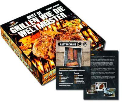 Best of Grillen wie die Weltmeister, Rezeptkarten