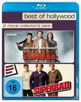 BEST OF HOLLYWOOD - 2 Movie Collector's Pack: Ananas Express / Superbad, Seth Rogen, Evan Goldberg, Judd Apatow