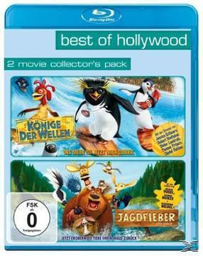 BEST OF HOLLYWOOD - 2 Movie Collector's Pack: Jagdfieber / Könige der Wellen, Steve Bencich, Ron J. Friedman, Lisa Addario, Christian Darren, Don Rhymer, Joe Syracuse
