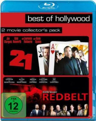 Best of Hollywood: 21 / Redbelt Bluray Box, Peter Steinfeld, Ben Mezrich, Allan Loeb, David Mamet