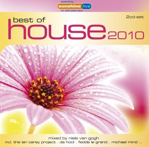 Best Of House 2010, Diverse Interpreten