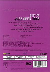 Best Of Jazz Open 1998 (Ntsc) - Produktdetailbild 1